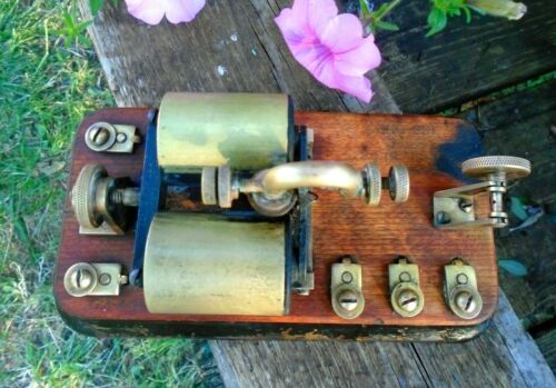 Antique Western Electric Morse Telegraph Relay 100 ohms Pat. 1903