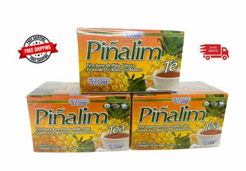 3 X Pinalim Te De Pina GN+Vida .Lose Weight, Detox.  Pineapple Tea  ENVIO GRATIS
