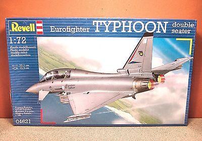 1/72 REVELL EUROFIGHTER TYPHOON DOUBLE SEATER MODEL KIT 04621