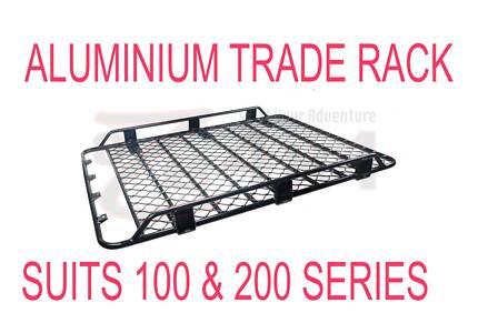 TRADIE ROOF RACK ALUMINIUM SUITS 100 & 200 Series TOYOTA