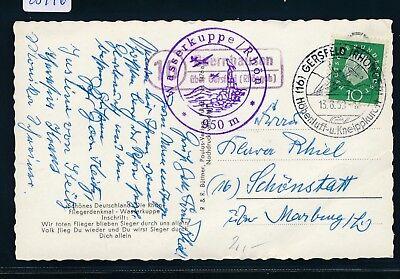 Post Glider (23976) Landpost Ra2 16 Obernhausen über Gersfeld (Rhöngeb) col.AK Glider 1959)