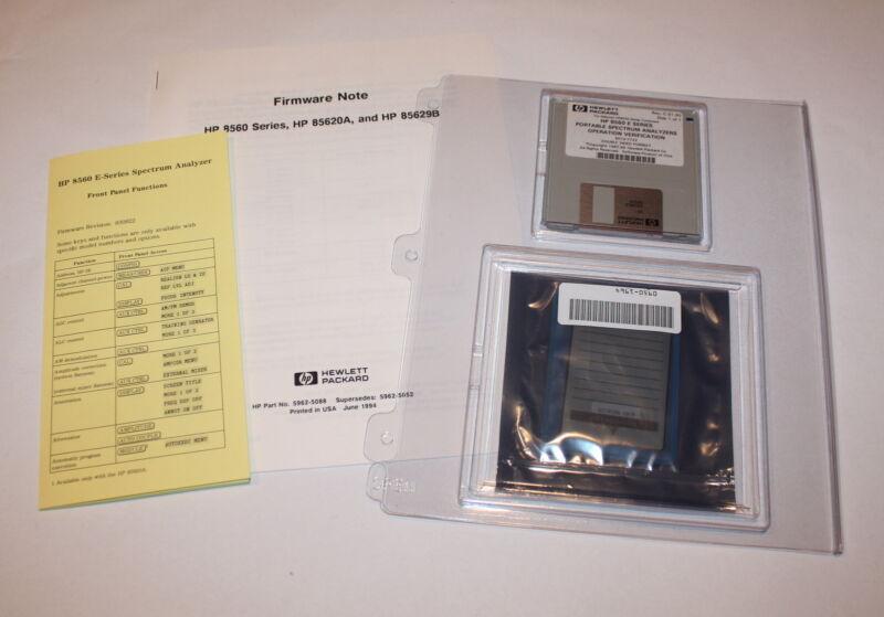 HP/Agilent 5962-5088 8560 Series Firmware Update