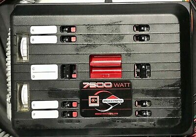 Cutler Hammer Briggs Stratton Ch630egnsys 6 Circuit 30 Amp Transfer Switch