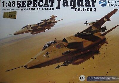 1/48 SEPECAT Jaguar GR.1 / 3  Model Kit by Kitty Hawk Models for sale  Gardena
