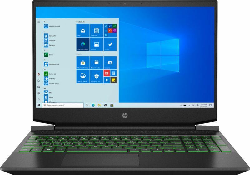 "HP - Pavilion 15.6"" Gaming Laptop - AMD Ryzen 5 - 8GB Memory - NVIDIA GeForce..."