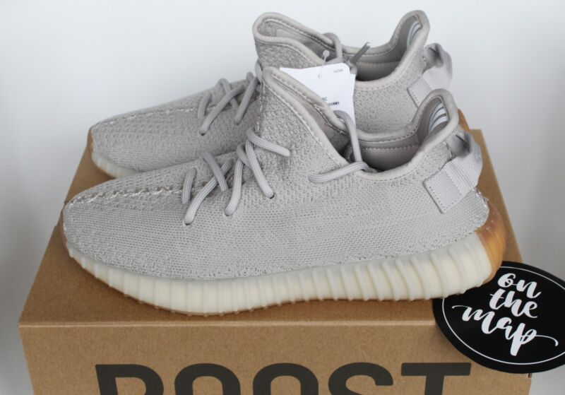 43c8411525b23 Adidas Yeezy Boost 350 V2 Sesame Grey Tan Beige UK 3 4 5 6 9 10 12 ...