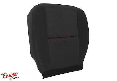 2011 Chevy Silverado 1500 2500 3500 HD-Driver Side Bottom Cloth Seat Cover Black