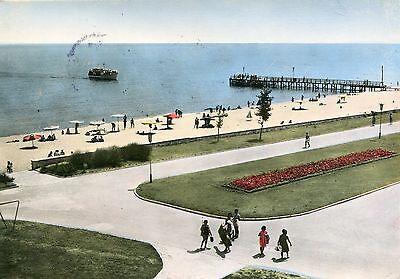 Alte Postkarte - Varna - Ansicht vom Goldenen Strand