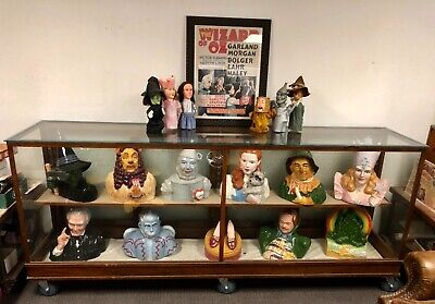 WIZARD OF OZ COOKIE JAR SET + CHESS SET COLLECTIBLE 50TH ANNIVERSARY LIMITED