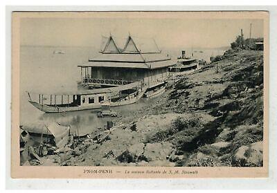 Tonkin indochine vietnam saigon #18643 cambodge phnom penh maison flottante de s