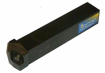 Nice Iscar Sllnr 16-16hf 1 Square Shank Groove-turn Indexable Tool Holder