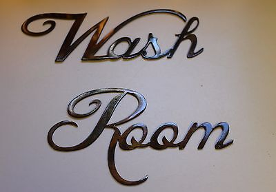 Metal Wall Art Decor Wash Room