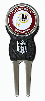 - NFL Washington Redskins Signature Golf Divot Tool and Ball Marker Enamel Team
