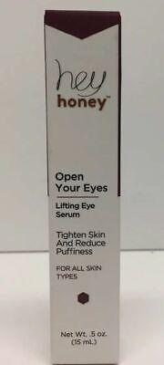 (New) Hey Honey OPEN Your Eyes - Lifting Eye Serum, 0.5 oz