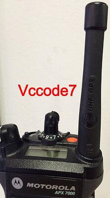 Motorola Stubby Uhf R1 Gps Antenna Apxapx7000apx6000apx6500 Xts5000 Trbo