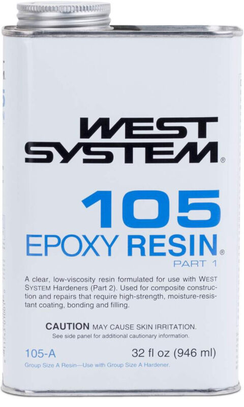 West System 105 Epoxy Resin (1 qt)