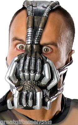 Batman Dark Knight Rises Bane Mask (BANE ADULT GAS MASK BATMAN DARK KNIGHT RISES COSTUME ACCESSORY TOM HARDY)