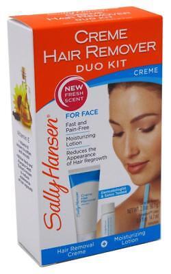 SALLY HANSEN CREME HAIR REMOVER DUO KIT FOR FACE