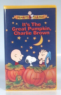 It's The Great Pumpkin Charlie Brown VHS Peanuts Classic Halloween Snoopy