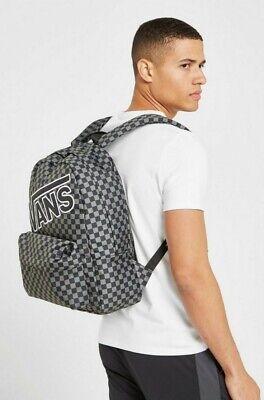 Vans Check Backpack grey-black