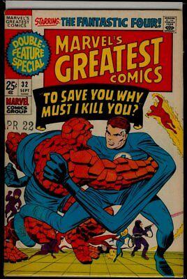 Marvel's GREATEST Comics #32 Fantastic Four vs Frightful Four FN 6.0