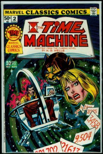 Marvel CLASSICS Comics #2 The TIME MACHINE NM 9.4
