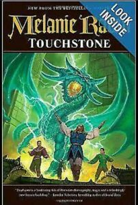 """Touchstone"" by bestseller Melanie Rawn (#1), Fantasy, hardcover Bentleigh East Glen Eira Area Preview"