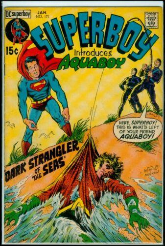 DC Comics SUPERBOY #171 Aquaboy VG/FN 5.0