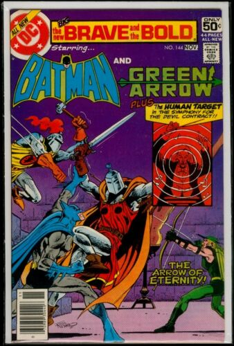 DC Comics The BRAVE And The BOLD #144 BATMAN And Green Arrow VFN- 7.5