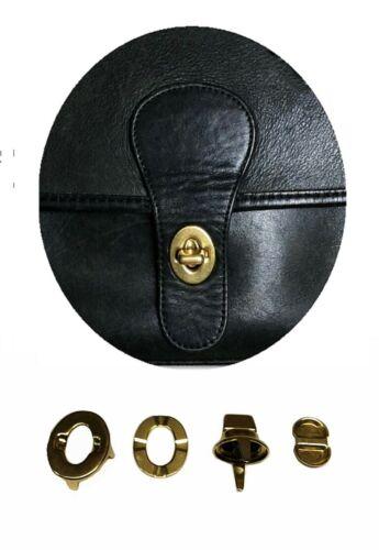 Coach Purse Turn Lock Hand Bag Replacement Part ~ Brass Finish lock