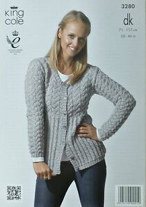 Raglan Sweater And Cardigan Ladies Knitting Pattern. Make: Wendy