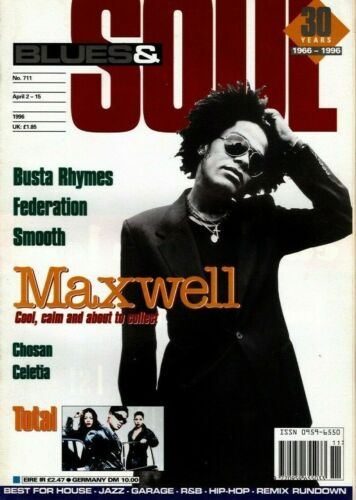 Blues & Soul Magazine 1996    Maxwell    Total     Busta Rhymes   The Federation