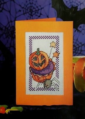 ch card chart  - From a magazine (Halloween-cross Stitch Charts)