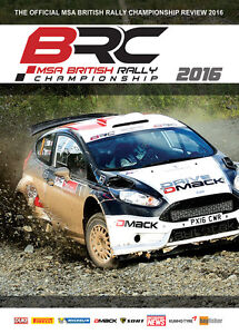 British Rally Championship Review 2016 DVD