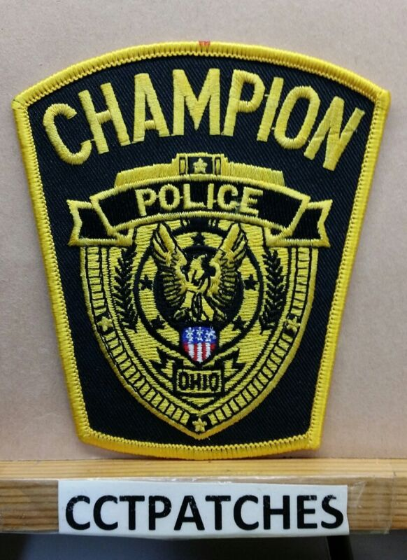 CHAMPION, OHIO POLICE SHOULDER PATCH OH