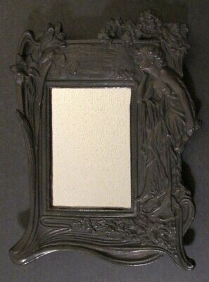 ART NOUVEAU FIGURATIVE WALL HANGING MIRROR ~11
