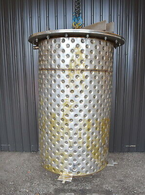 265 Gallon Jacketed Stainless Steel Tank