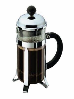 Bodum Chambord French Press 3-Cup Coffee Maker, 12oz  (0.35L) Chrome,