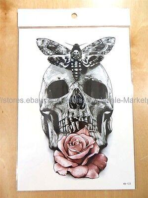 rose Calavera sugar skull Halloween 8.25