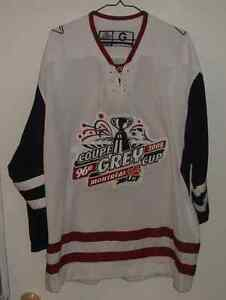Chandail Coupe Grey Cup Montreal Alouette Football Hockey Jersey