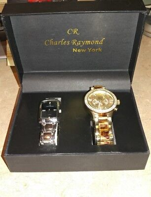 Charles Raymond new york his & her watch