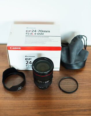 Canon EF 24-70mm f/2.8 L II USM Lens, used for sale  Brooklyn