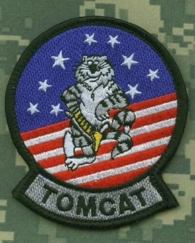 F-14 TOMCAT FIGHTER PATCH COLLECTIONS: ORIGINAL TOMCAT SHOULDER SLEEVE INSIGNIA