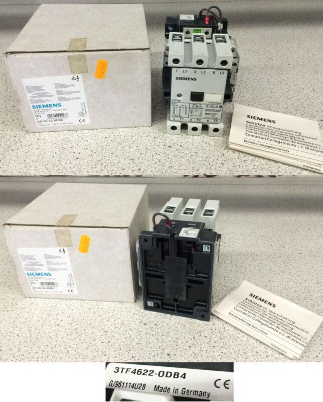 Siemens 3TF4622-ODB4 3-Pole Contactor