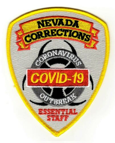 NEVADA CORRECTIONS patch COVD ESSENTIAL STAFF