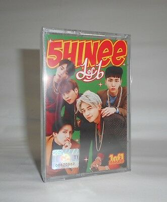K-POP SHINEE 5th Album - [1of1] Limited Edition Cassette Tape Ver. Sealed
