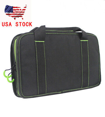 14inch Pistol Case Portable Military Handgun Durable Padded Carry Bag Tactical