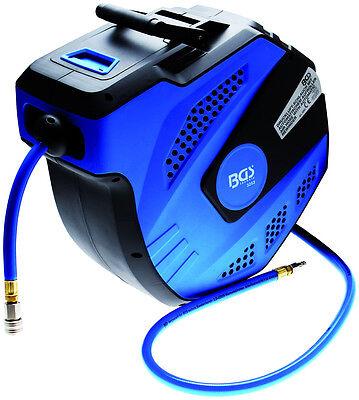 Automatik Aufroller Druckluft Schlauch 15 Meter Drucklufttrommel Schlauchtrommel