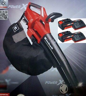 Einhell Akku-Laubsauger GE-CL 36 Li incl 2 Starter Kit 18 V 3,0 A 2 Akku Power X