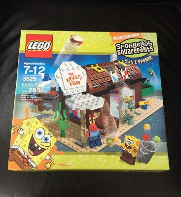 LEGO Krusty Krab Adventures Set # 3825 Sponge Bob Nickelodeon MISB